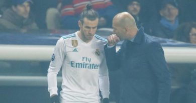 Frustrated Bale and Zidane