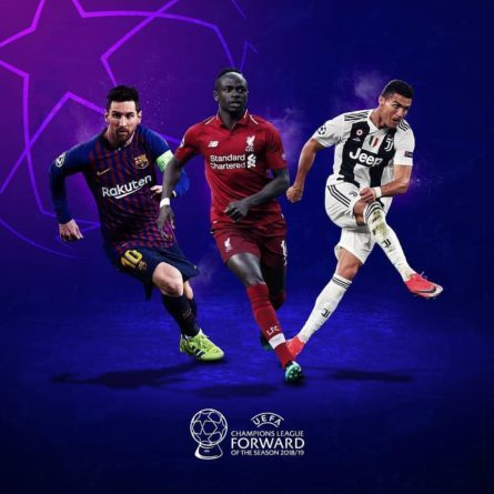 2018/2019 UEFA Champions League award nominations