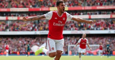 Ceballos on Arsenal debut