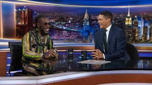 Burna Boy Trevor Noah
