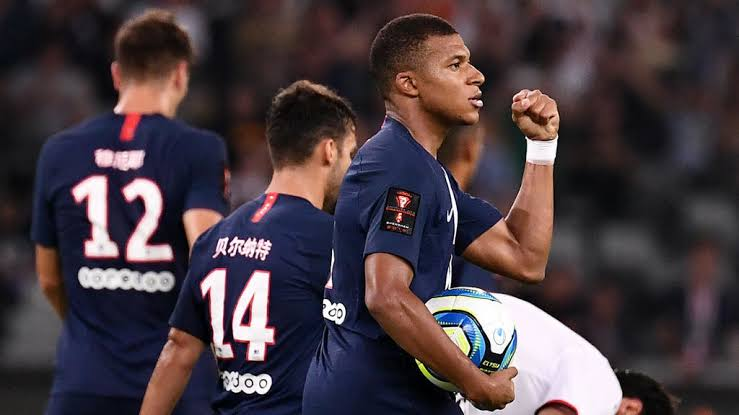 Psg win French Super Cup