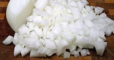 Chef narrates how she and her husband fought over onions