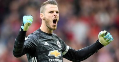 De Gea Signs New Contract To Become United's Highest Earner