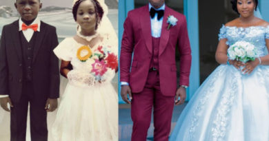 Little bride Page boy gets married years later