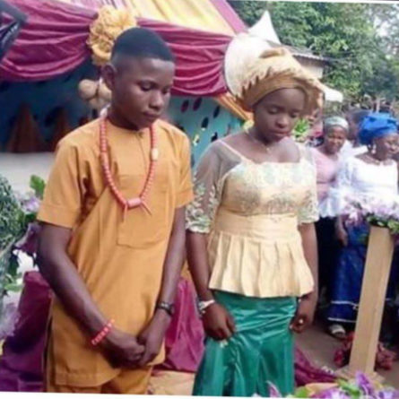 17 year old marries 16 year old