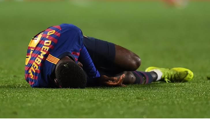 Injured Dembele