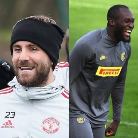 Lukaku and Shaw