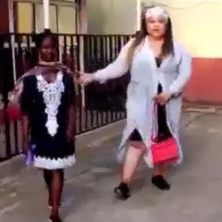 Lady allegedly sent out of church over her dressing