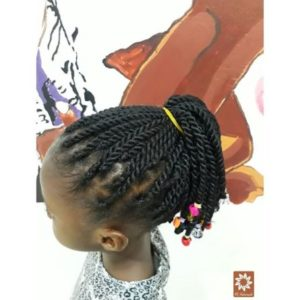 twisting hair for kids