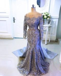 custom made dinner gown