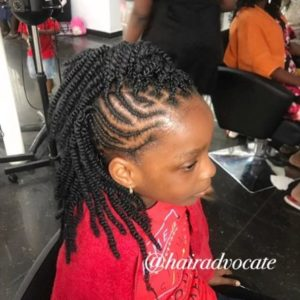 kinky hair for girls