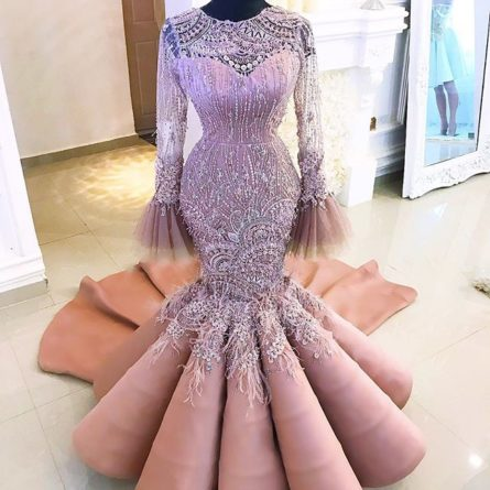 mermaid dinner gown