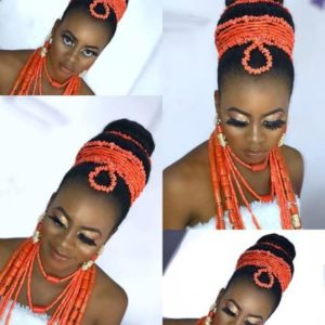Delta traditional wedding hairstyle