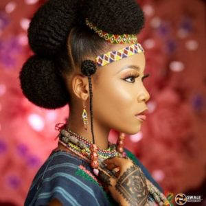 Hausa and fulani traditional wedding hairstyle