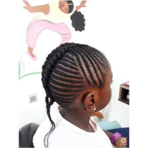 all back weaving hairstyle