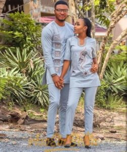 casual nigerian couple style