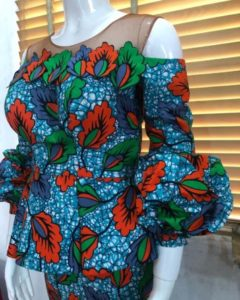 balloon sleeve ankara