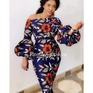 high neck ankara