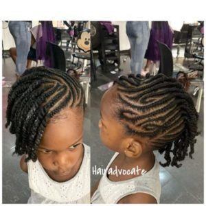 weaving hairstyle for black girls
