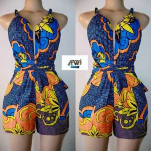 ankara play suit
