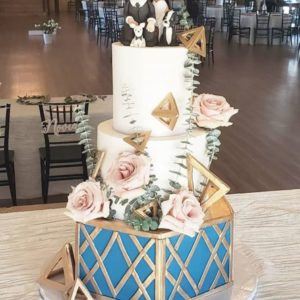 unique wedding cake design