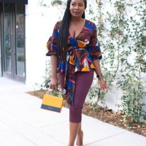 simple ankara top