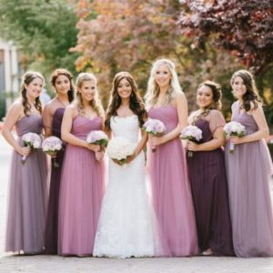 lilac and purple wedding colour