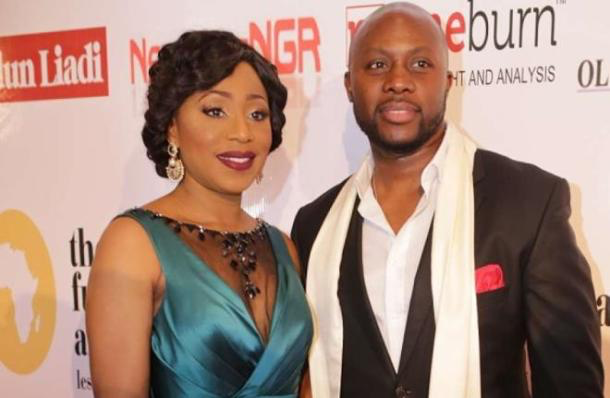 Dakore Egbuson and Olumide Akande