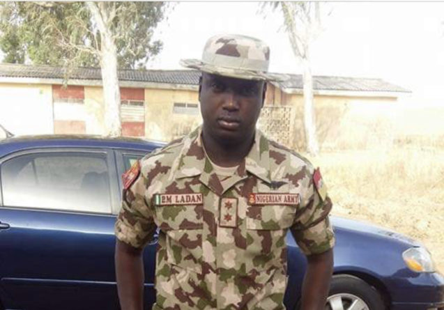 Nigerian soldier gives advice on marriage