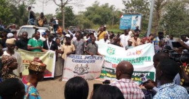 Amoteku: Stakeholders Back Southwest Governors Through Peaceful Rally in Ondo [Photo]