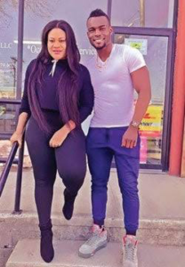 Nkechi Blessing and Boyfriend, Mike Adeyemi