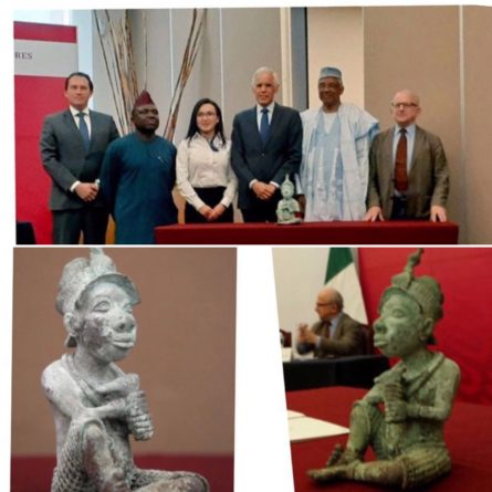 Mexico returns Nigeria sculpture