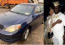 Actor Kunle Afod Surprises Wife With Car Gift