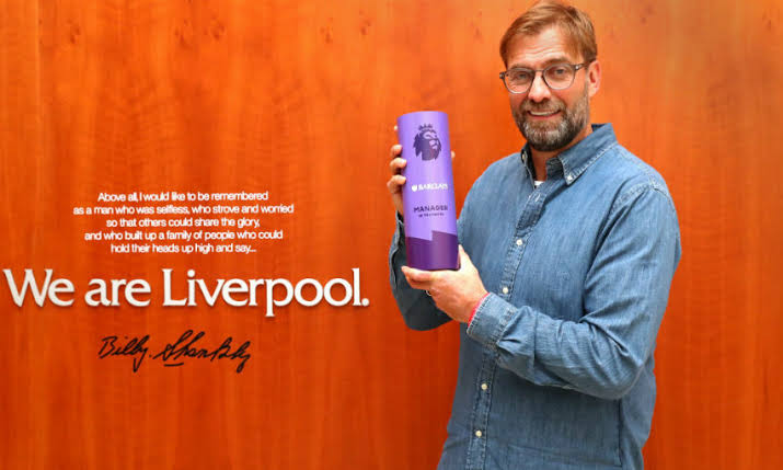 Klopp Picks Up Record-Fifth PL Manager Of The Month Award