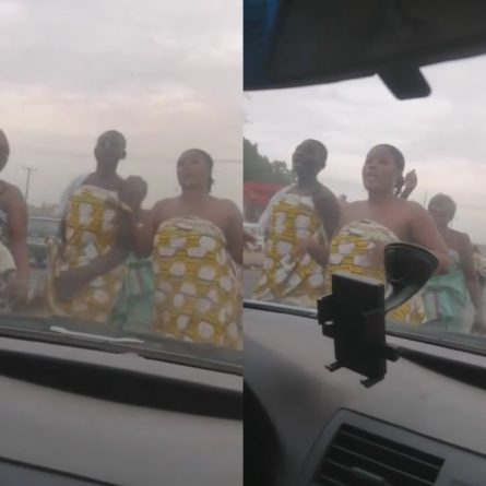 Topless Women Troop Out To Pray Against Covid-19 in Abeokuta, Ogun State (Video)