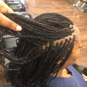 kinky twists