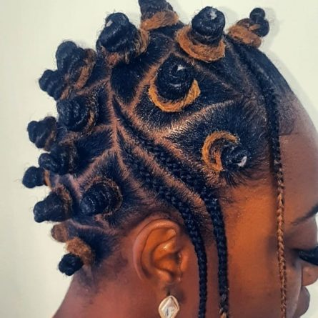 20 Bantu Knots to Inspire Your Hairstyle | | AllNigeriaInfo