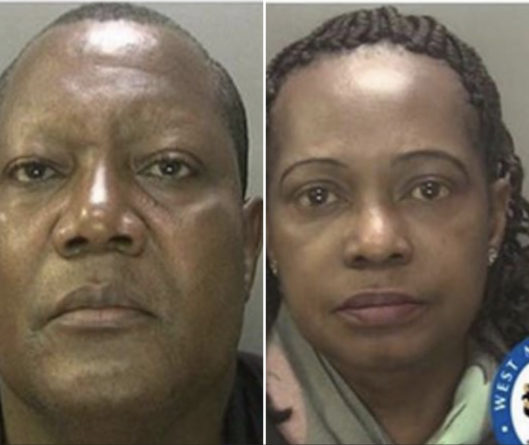 Paedophile pastor jailed alongside wife
