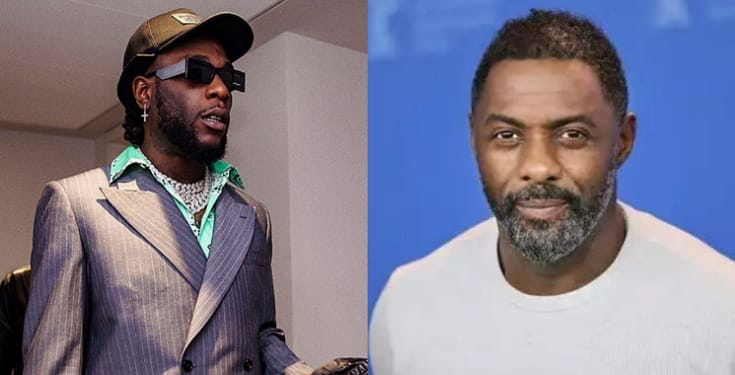 Burna Boy Idris Elba