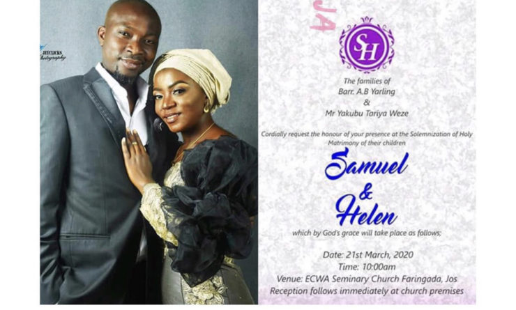 Groom Slumps, Dies On His Wedding Day in Plateau State
