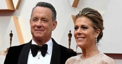 Tom Hanks and Wife, Rita Wilson Test Positive For Coronavirus