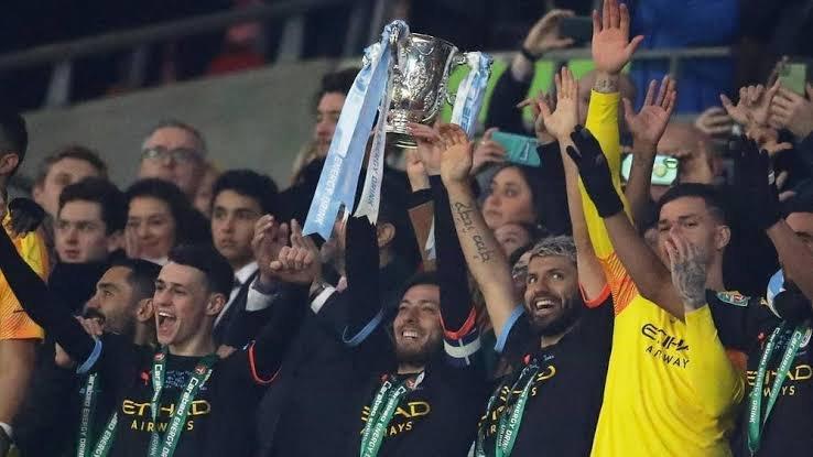 Mancity win Carabao cup