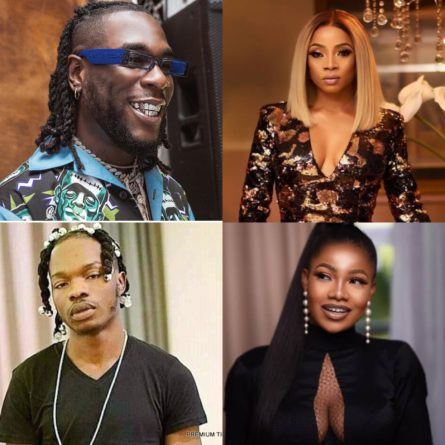 "Twitter Users Drag Toke Makinwa, Naira Marley, Tacha For ""Broke Shaming"" Nigerians"