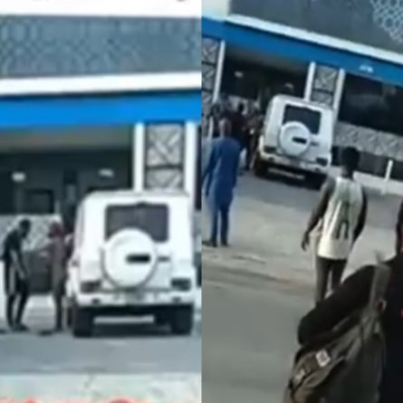 Hooker tears her client's cloth, damages his GWagon over payment In V.I, Lagos (Video)