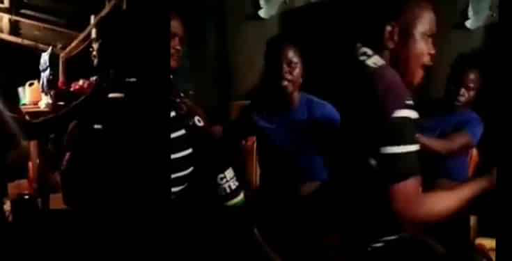 Woman Arrested For Slapping Policeman 13 Times In Oyo State (Video)