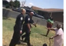 """I'm Scared"" – Black Man Screams As Numerous Cops Draw Guns On Him And His 90-Year-Old Grandmother (Video)"