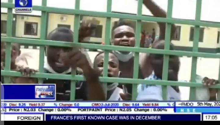 Gombe State Coronavirus Patients Break Out Of Isolation To Protest Against Poor Care (Video)