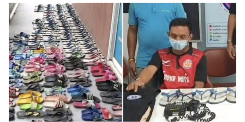 Man with shoe fetish stole 126 slippers from his neighbors