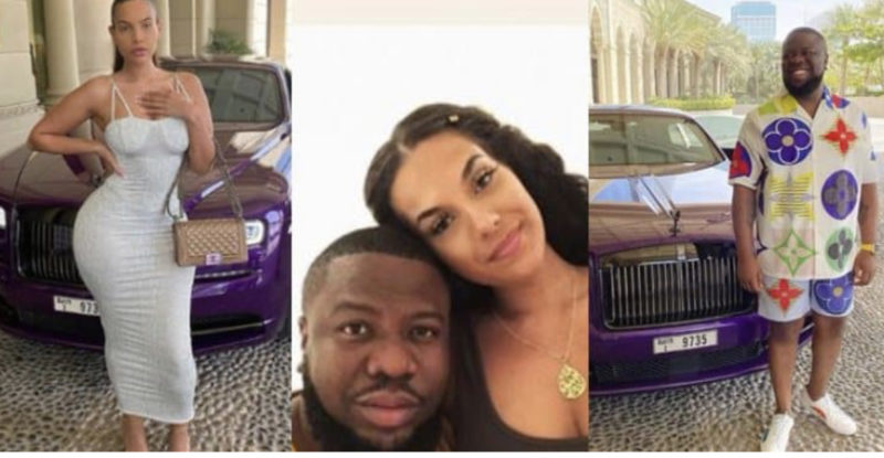 Hushpuppi's ex girlfriend
