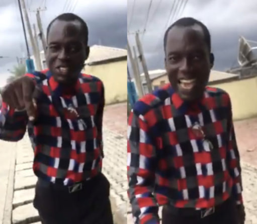 Pastor Filmed Harassing Ladies Over Their Outfits (Video)